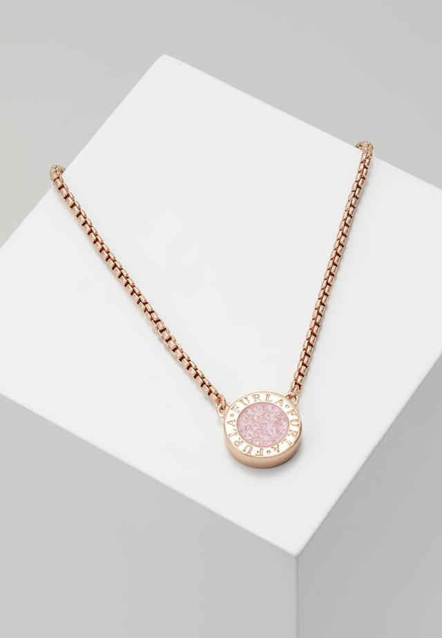 NECKLACE MEDALLION - Collar - camelia
