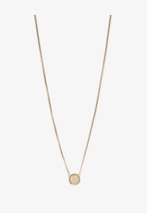 CRYSTAL NECKLACE MEDALLION - Náhrdelník - gold-coloured