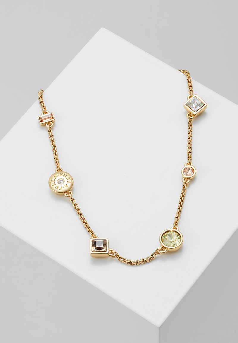 Furla - CRYSTAL MIXED NECKLACE - Halskette - gold-coloured
