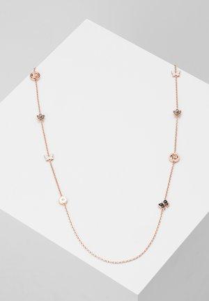 FLOWER LONG NECKLEASE - Náhrdelník - rose gold-coloured