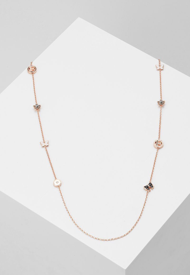 Furla - FLOWER LONG NECKLEASE - Necklace - rose gold-coloured