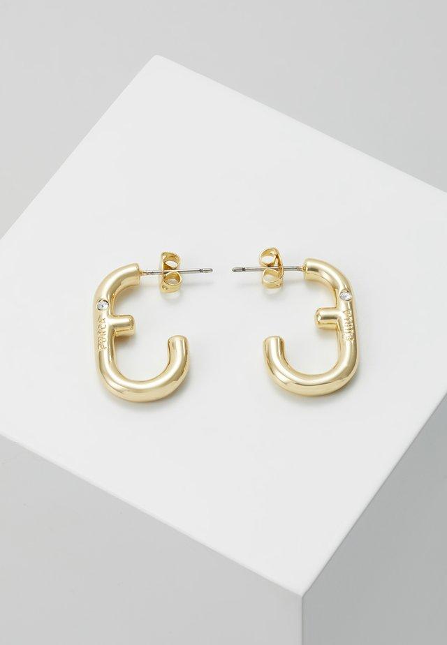 HOOP EARRING - Boucles d'oreilles - gold-coloured
