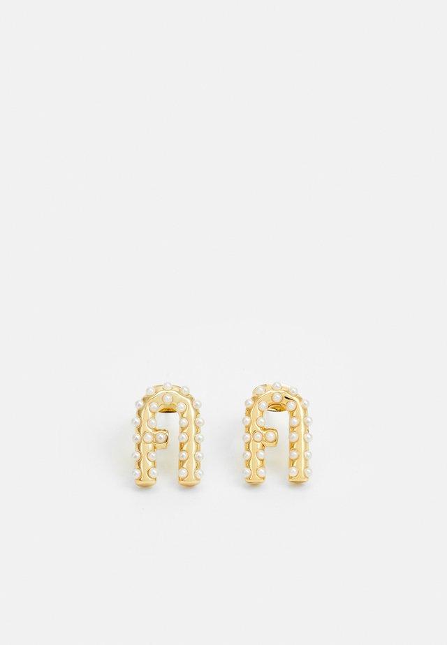 ARC LOGO EARRING - Boucles d'oreilles - gold-coloured