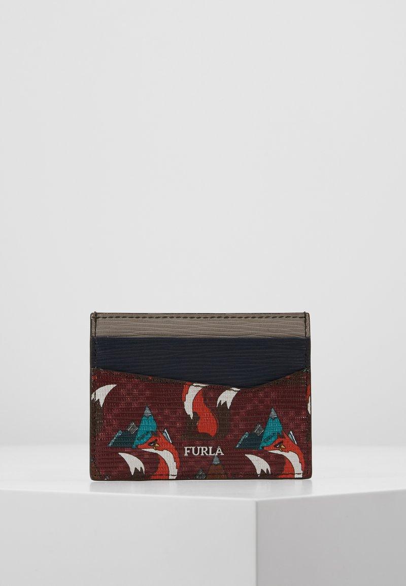 Furla - MARTE CREDIT CARD CASE - Visitekaarthouder - blue