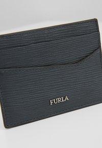 Furla - MARTE CREDIT CARD CASE - Etui na wizytówki - ardesia - 2