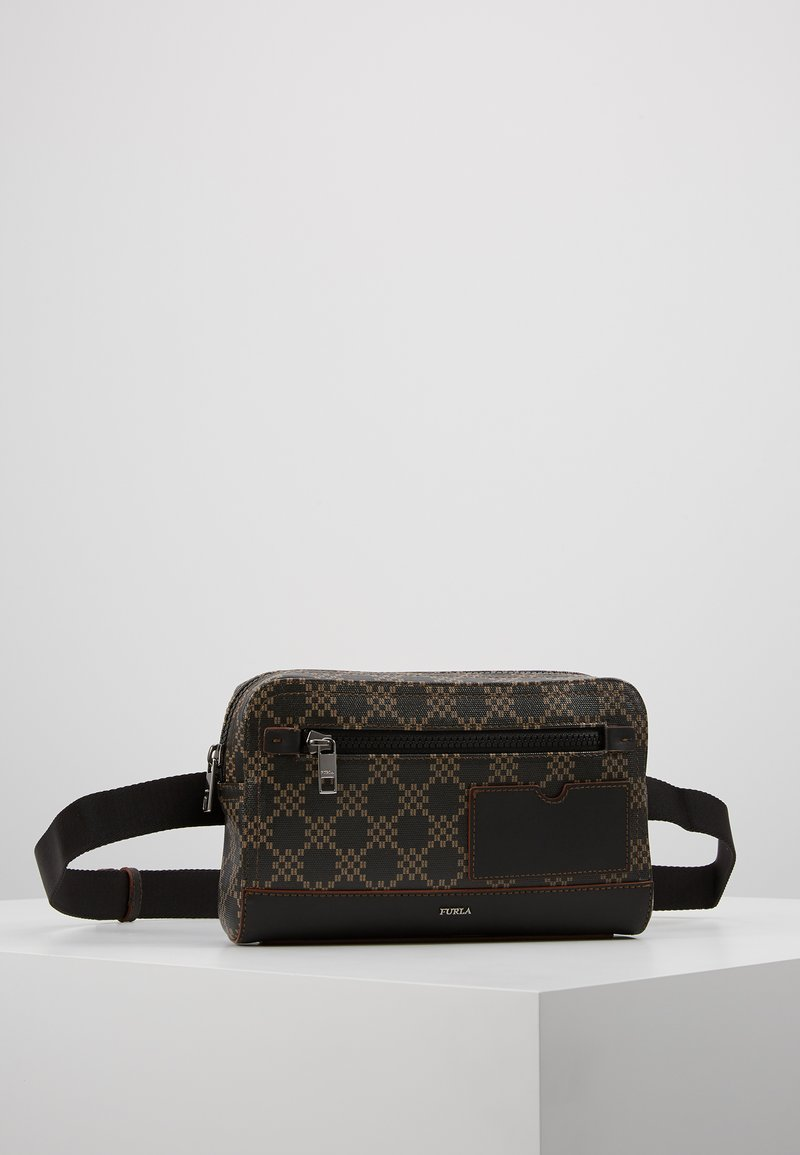 Furla - ULISSE BELT BAG/POUCH - Bum bag - toni cuoio/onyx