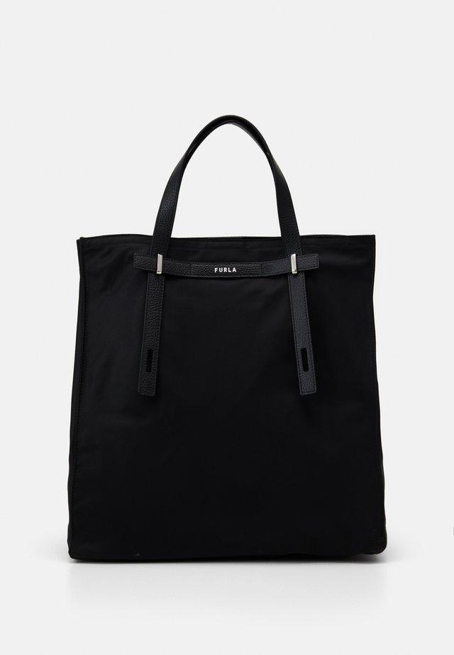 MAN GIOVE SHOPPER TESSUT - Tote bag - nero