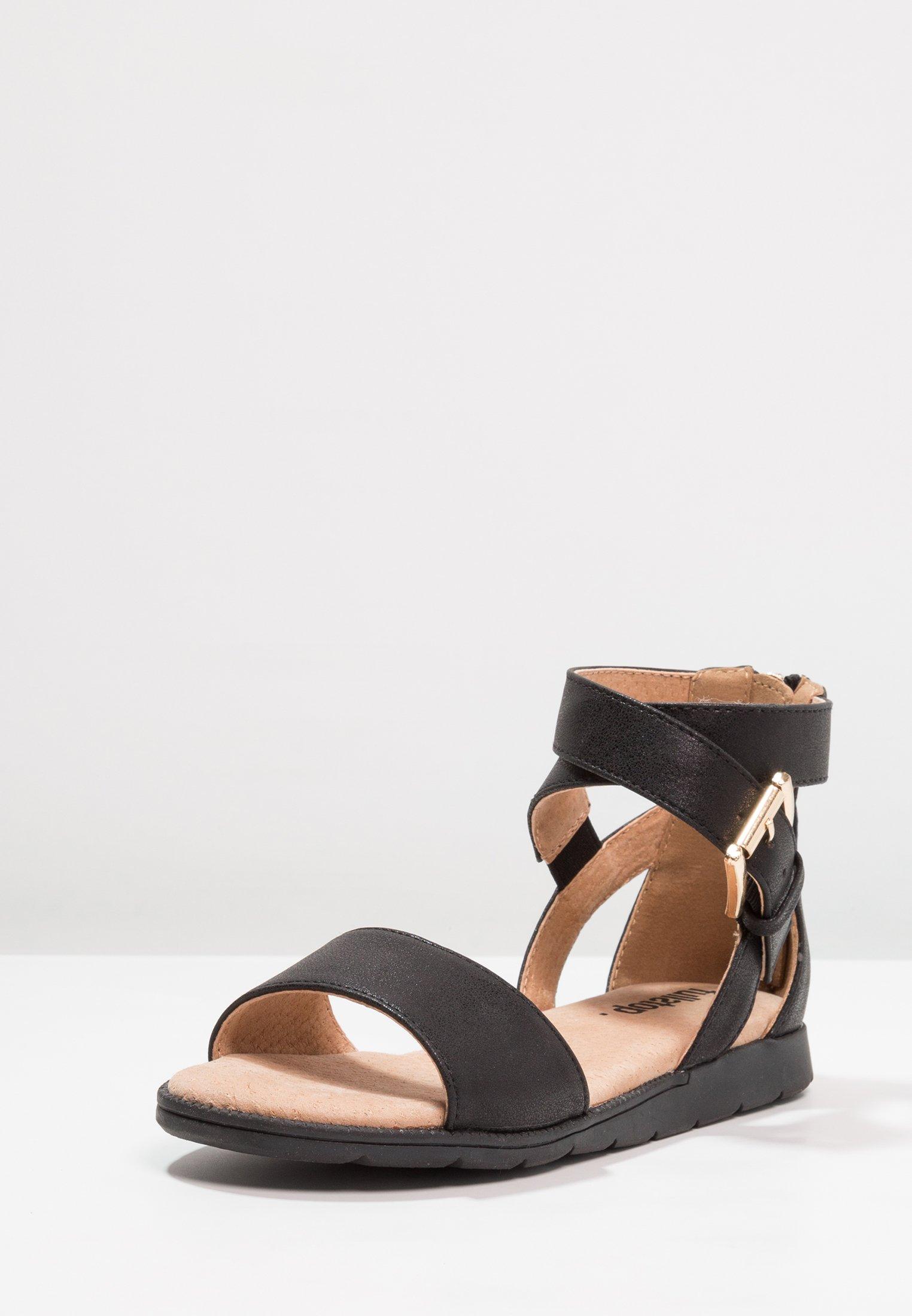 Sandaalit nilkkaremmillä black