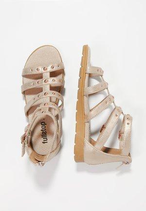 Sandales - rose gold