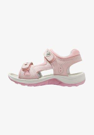 Chodecké sandály - rose