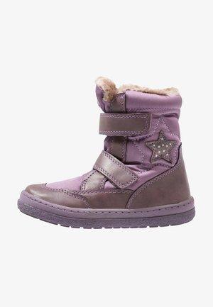 Kotníkové boty - purple