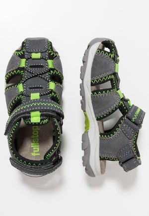 Walking sandals - dark grey