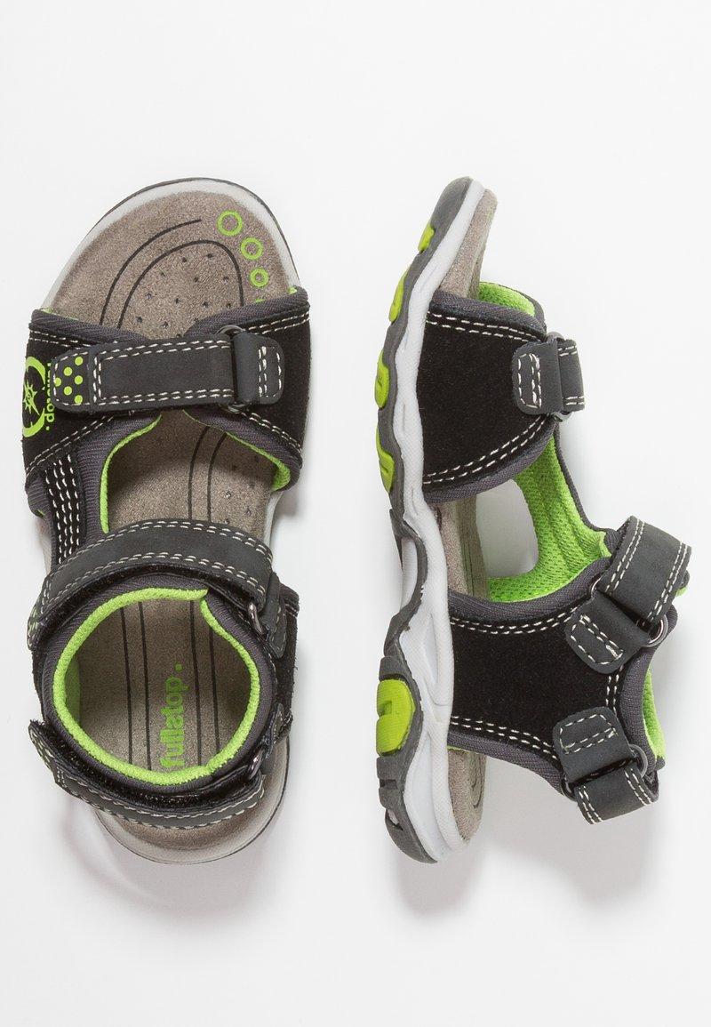 fullstop. - Walking sandals - black