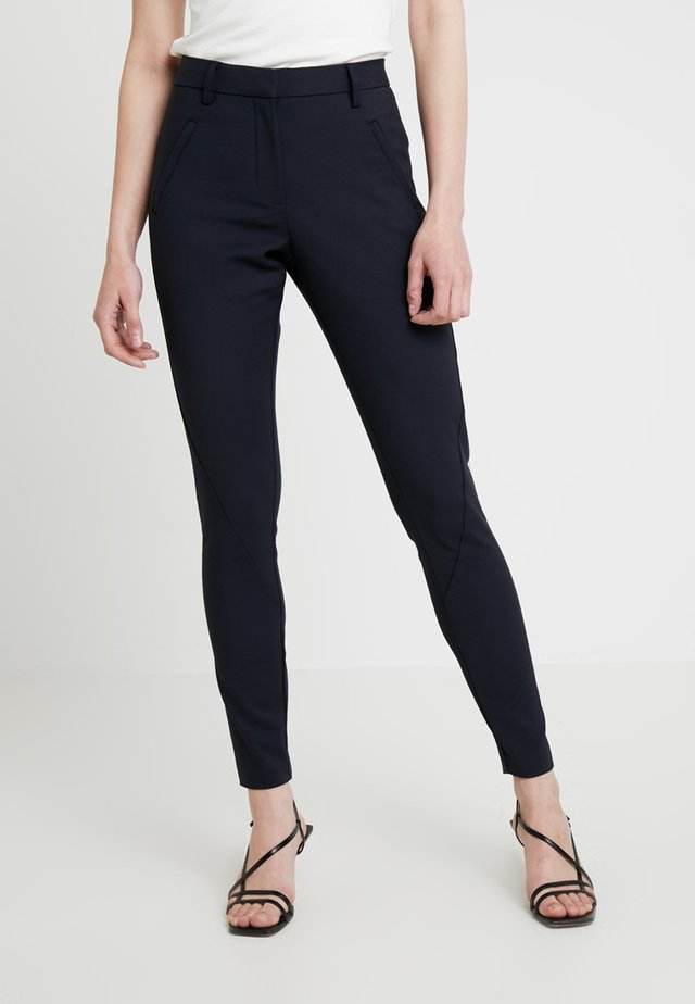 ANGELIE - Trousers - navy
