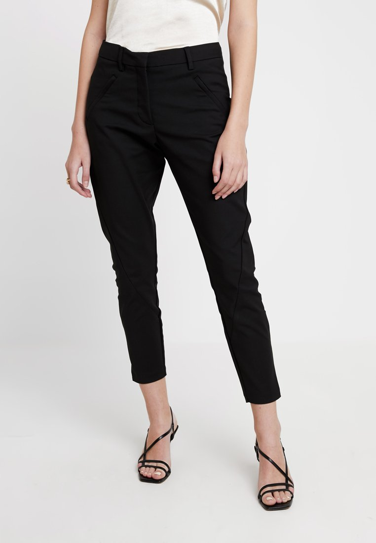 Fiveunits - ANGELIE ZIP - Trousers - black