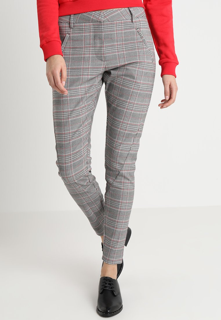 Fiveunits - ANGELIE - Trousers - grey/black