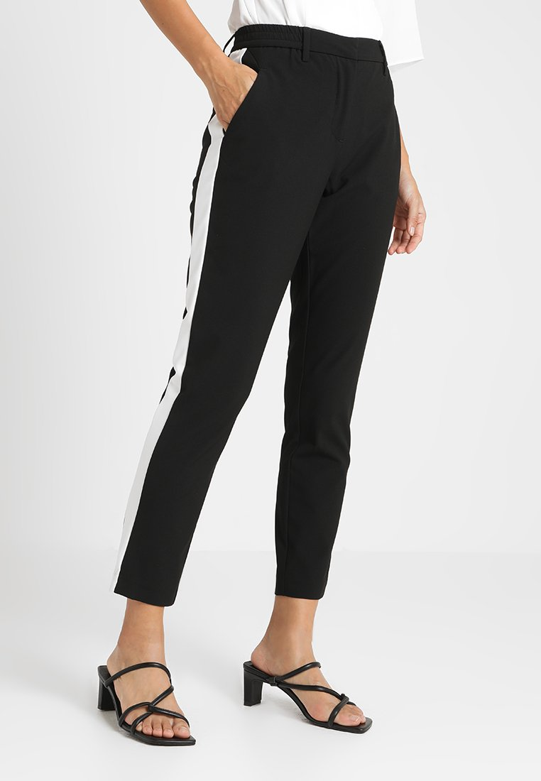 Fiveunits - KYLIE CROP FLASH - Stoffhose - black