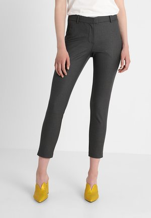KYLIE CROP - Broek - nuvo dark grey
