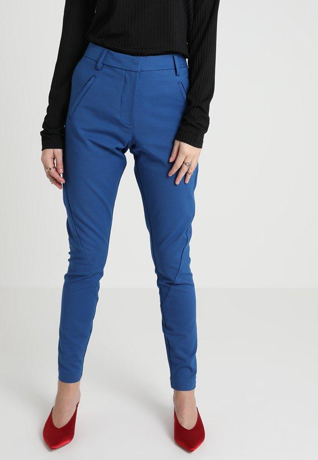 ANGELIE - Tygbyxor - monaco blue