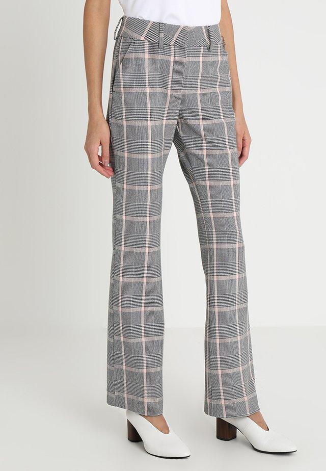 CLARA - Spodnie materiałowe - grey
