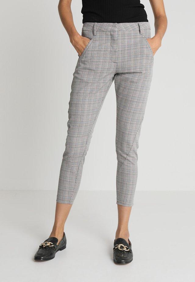 ANGELIE ZIP - Trousers - grey