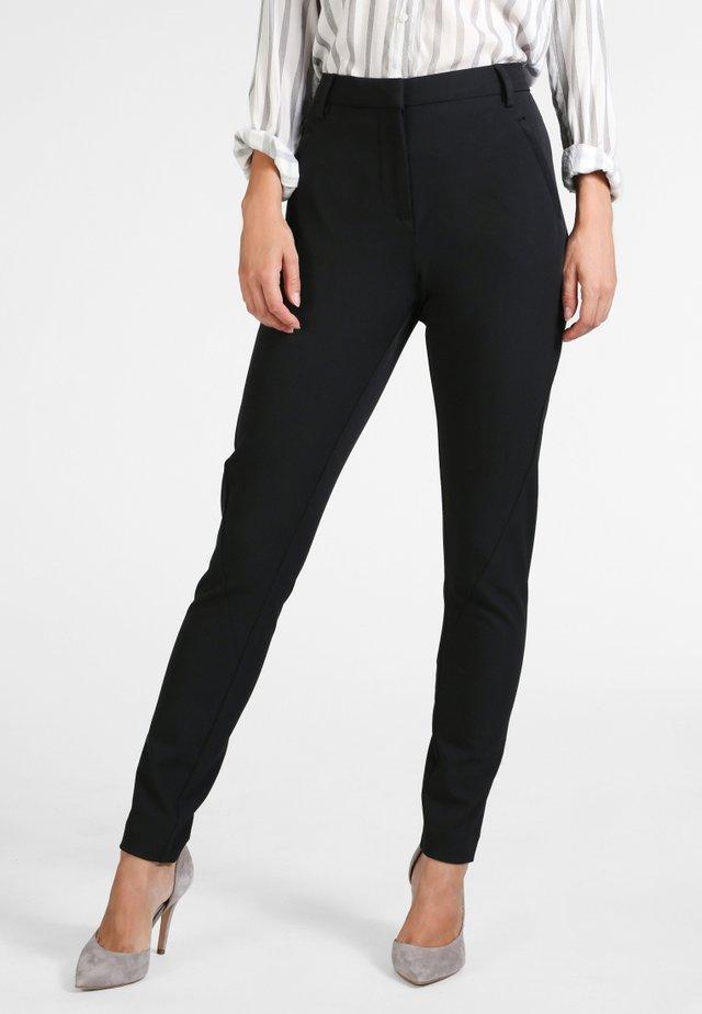 ANGELIE - Trousers - black