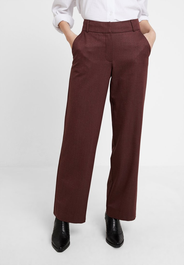 Fiveunits - DENA WIDE - Trousers - spice abel