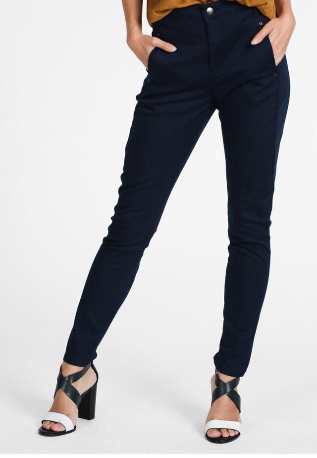 JOLIE - Trousers - navy