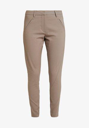ANGELIE - Pantaloni - wallnut
