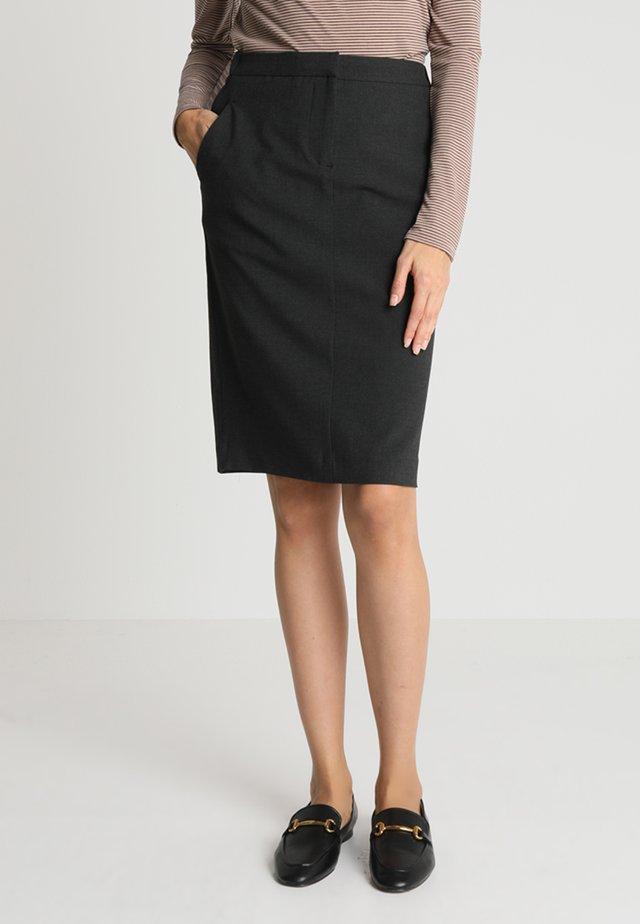 KYLIE SKIRT - Pencil skirt - anthracite