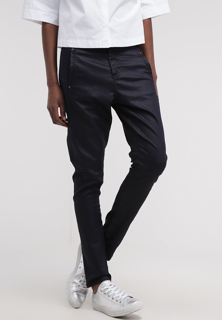 Fiveunits - JOLIE - Trousers - navy coated