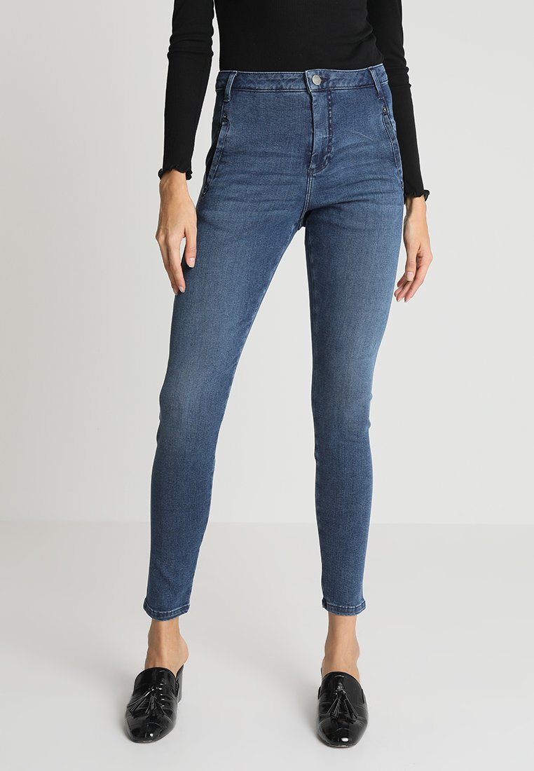 Fiveunits - JOLIE - Slim fit jeans - mid blue raini
