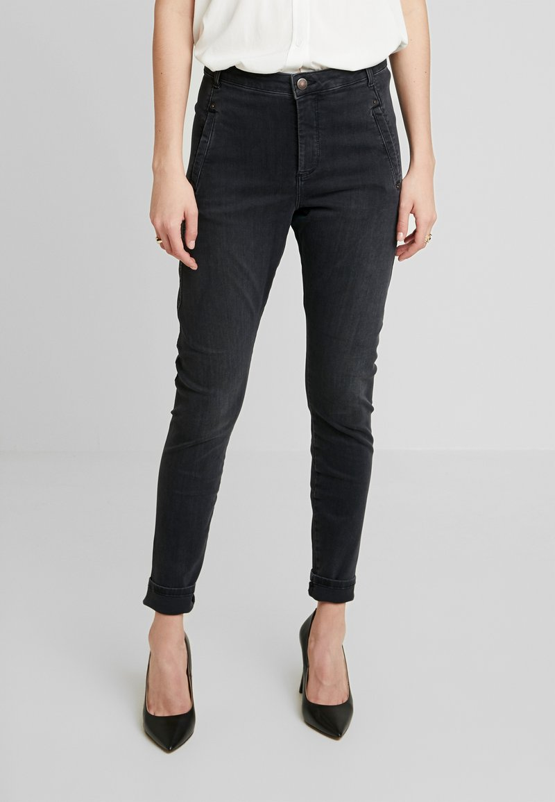 Fiveunits - JOLIE - Jeans relaxed fit - grey raini
