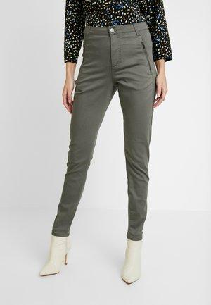 JOLIE DRIFTER - Jeans relaxed fit - gunmetal