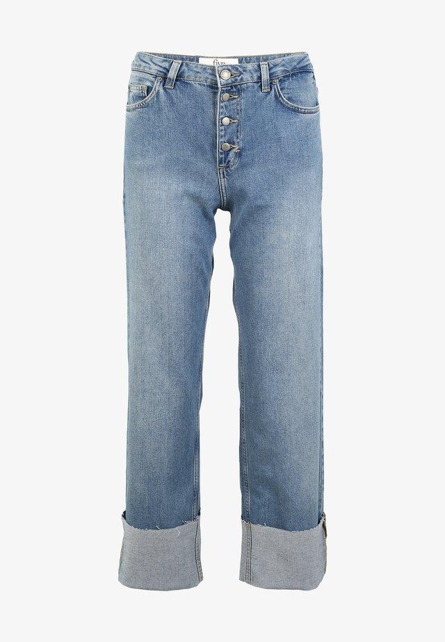 JEANS FLEX - Bootcut jeans - vintage blue