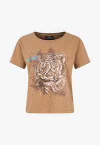 Funky Buddha - T-shirt z nadrukiem - beige - 5
