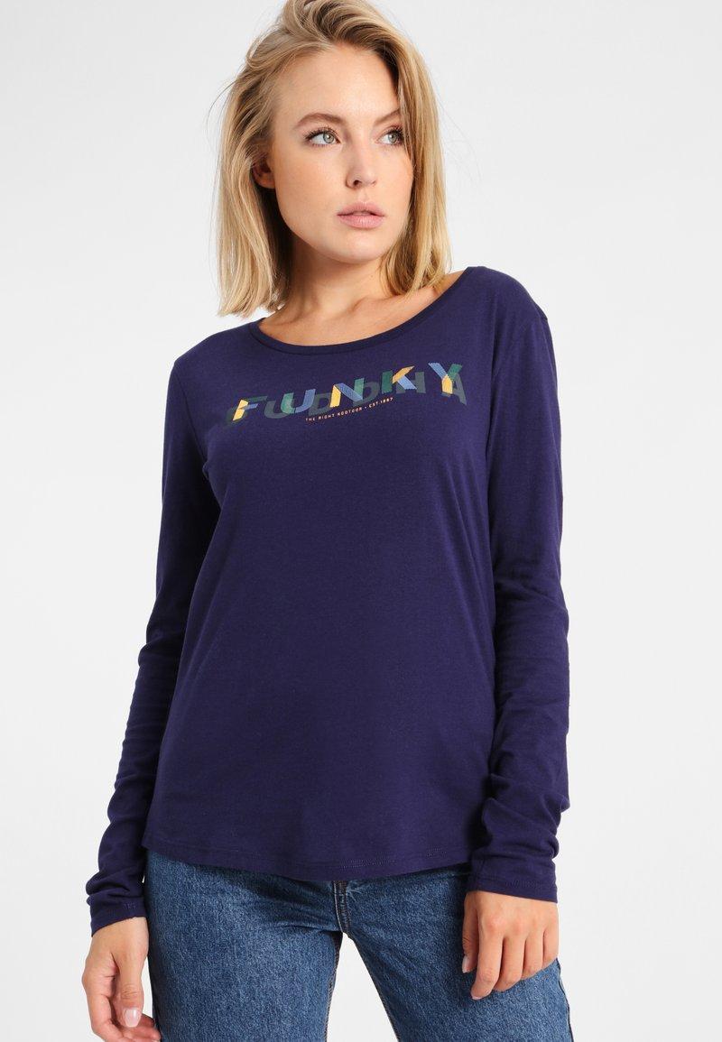Funky Buddha - T-shirt à manches longues - grey