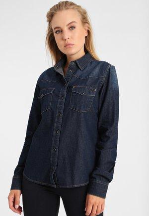 RETRO REVIVAL - Overhemdblouse - dark blue