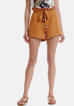Shorts - golden ochre