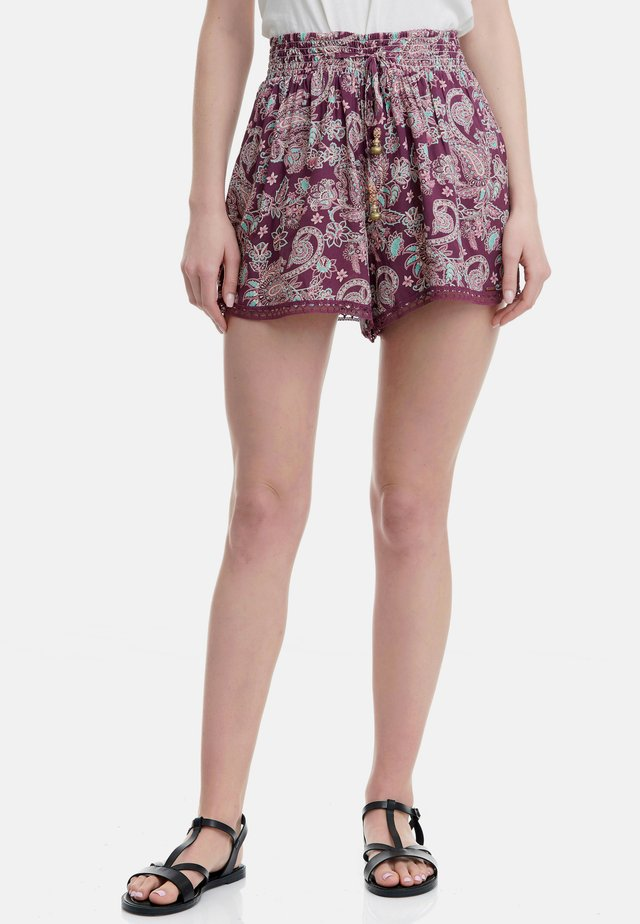 FUNKY BUDDHA  - Shorts - grape