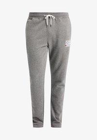 Funky Buddha - ATHLETIC - Spodnie treningowe - medium grey melange - 5
