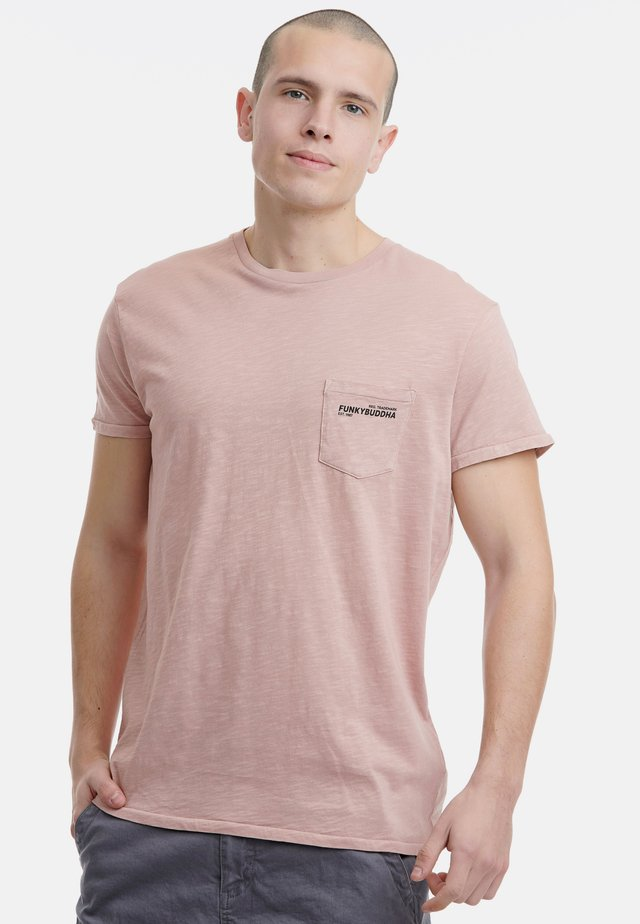 BASIC - T-Shirt basic - dark pink