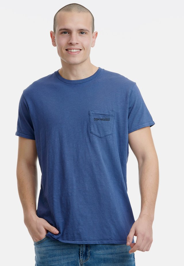 BASIC - T-Shirt basic - blue