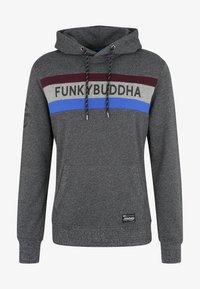 Funky Buddha - Bluza z kapturem - dark gray - 5