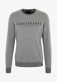 Funky Buddha - THE RIGHT KOOTOOR - Bluza - mottled grey - 5