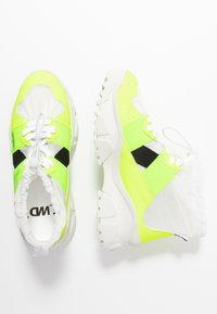 F_WD - High-top trainers - fluo yellow/transparent - 3