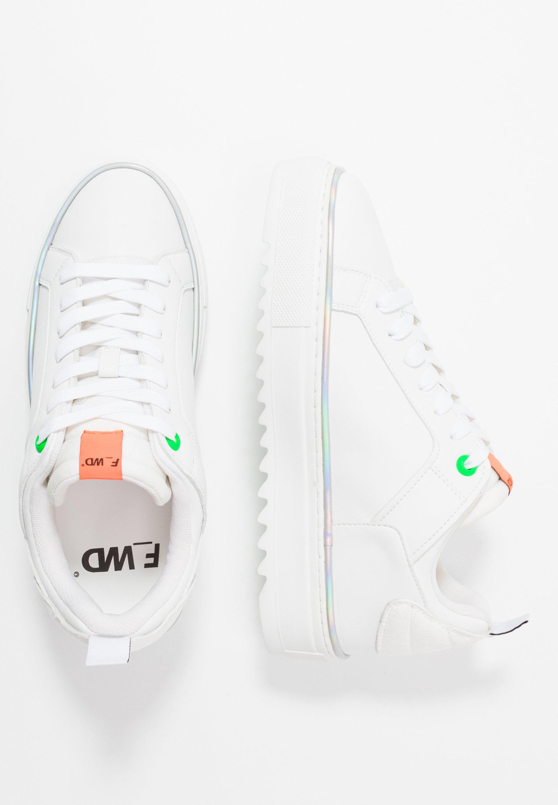 F_wd Sneakers - White/progreen