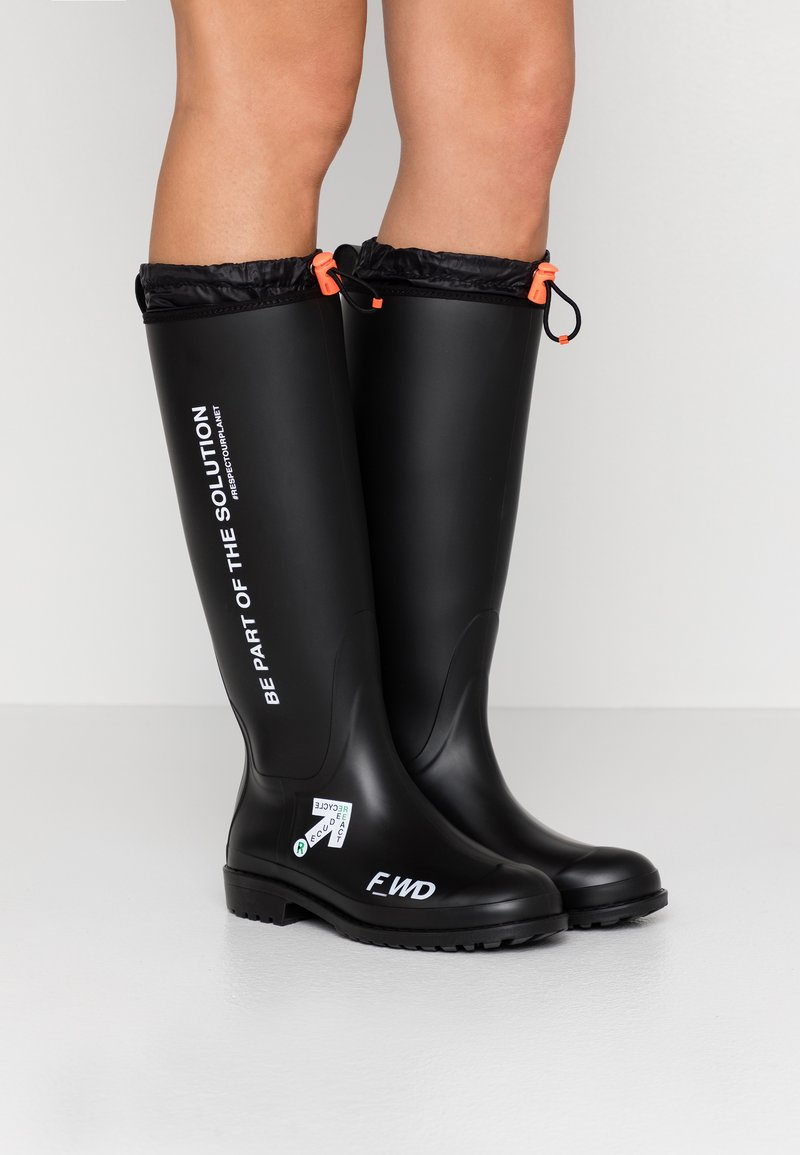 F_WD - Wellies - nera