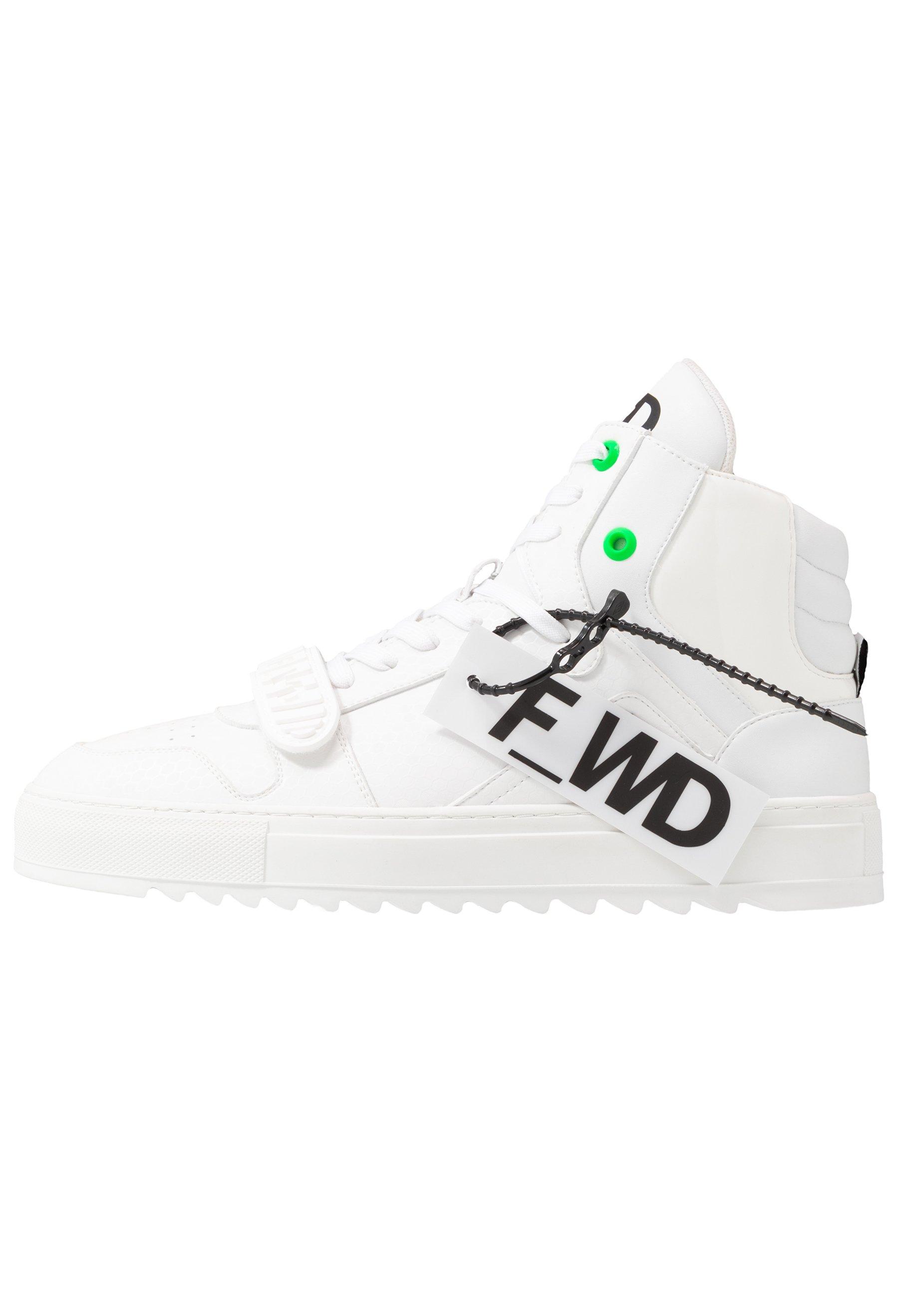 F_WD Höga sneakers exagon whiteeconappa white Zalando.se