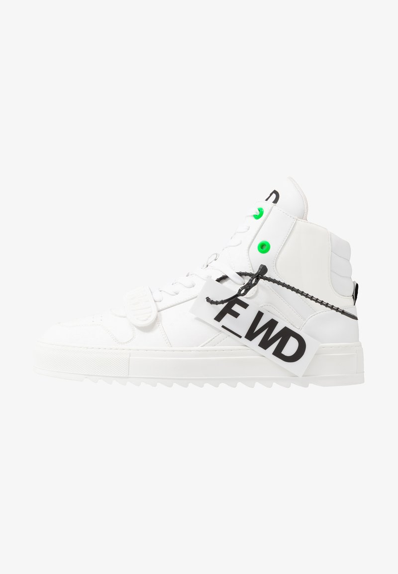 F_WD - High-top trainers - exagon white/econappa white